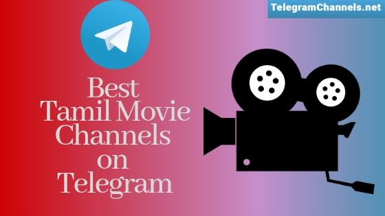 Best Telegram channels for Tamil Movie