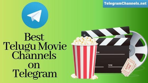 Best Telegram channels for Telugu Movie