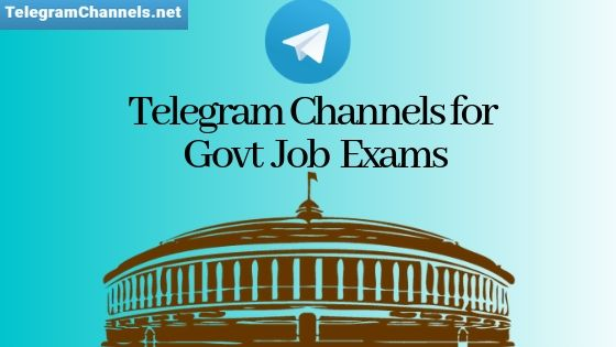 Govt Job Telegram channels
