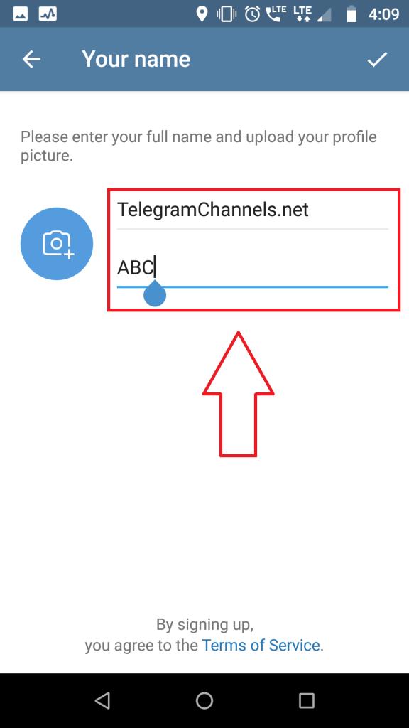 Steps to Create Telegram Account