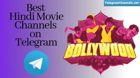 Hindi Movie channels on Telegram