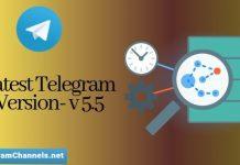 Telegram Version-v5.5 Update