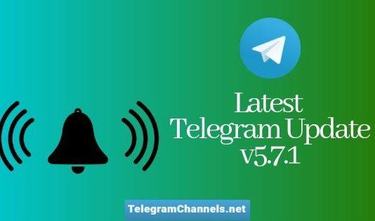 telegram update v5.7.2