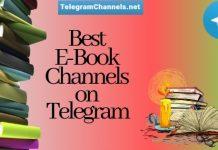 telegram channels for Ebooks and Audiobooks