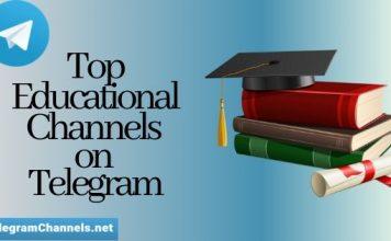 Educational channels on telegram