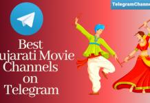 telegram channels for Gujarati Movie