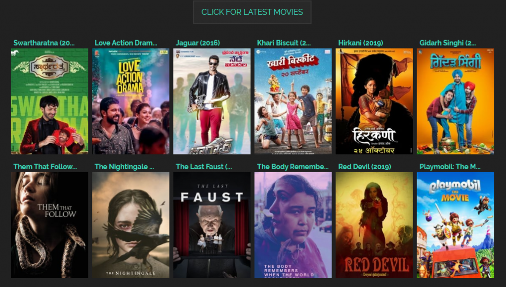 TamilRockers Upcoming Movies Download