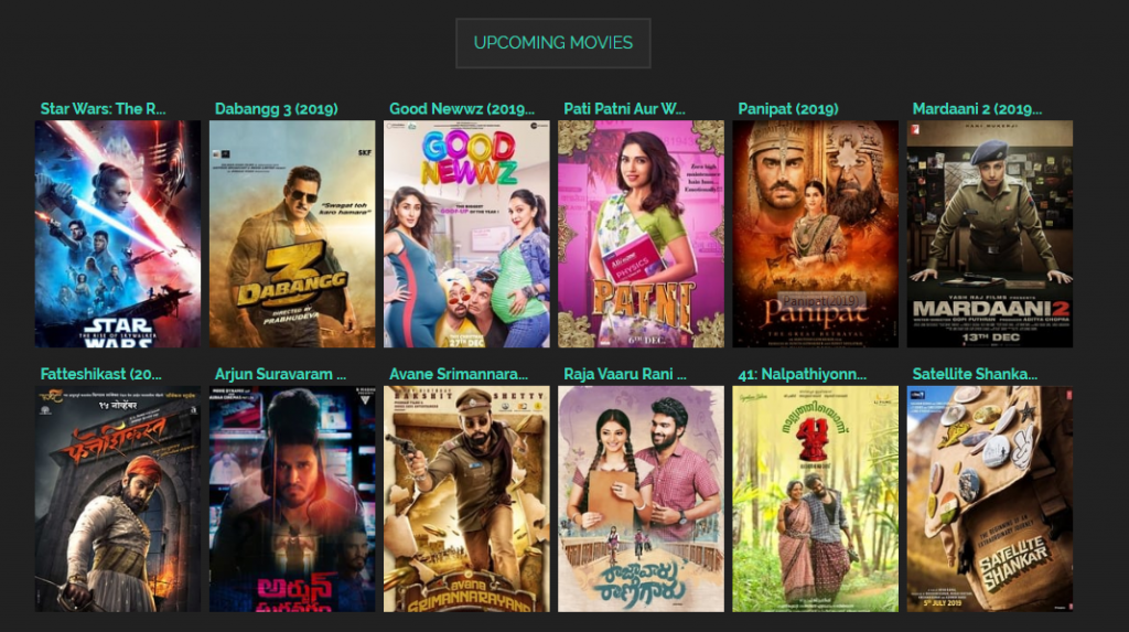Latest Movies TamilRockers
